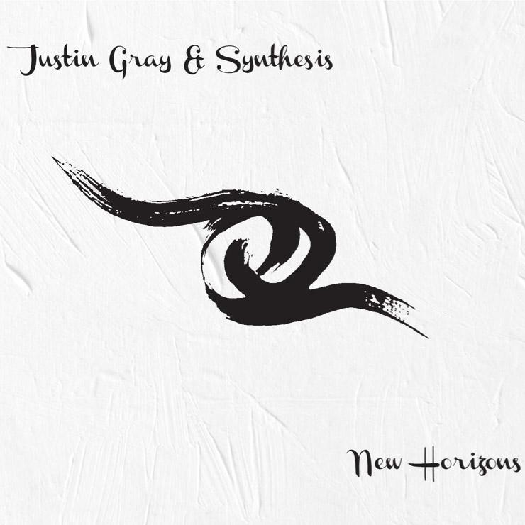 Justin Gray & Synthesis – New Horizons - Album art